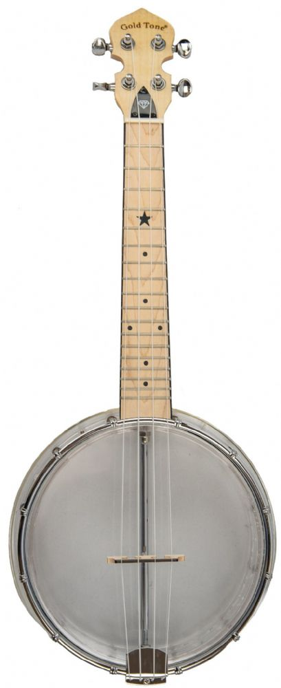 Gold Tone Little Gem Banjo Ukulele  Clear Diamond finish inc Gigbag